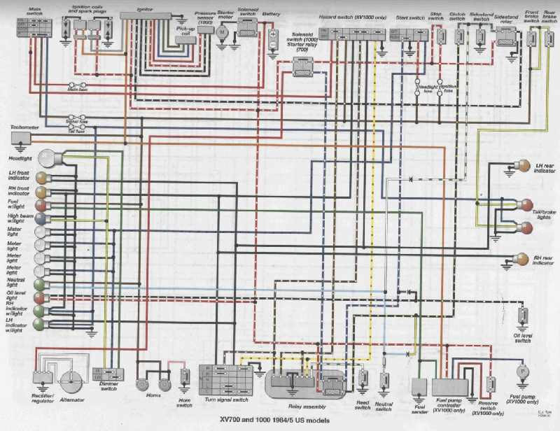 Ungewöhnlich Honda Schatten 750 Schaltplan Fotos - Elektrische ...